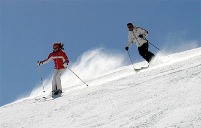 Skifahren   Höllhöhe   Sporthotel